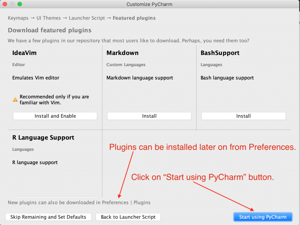 PyCharm Features Plugins