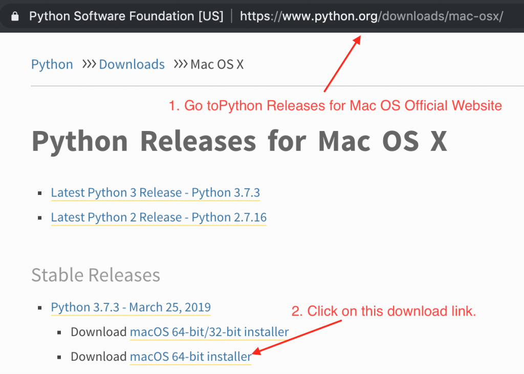 Python Mac Os X Installer Download