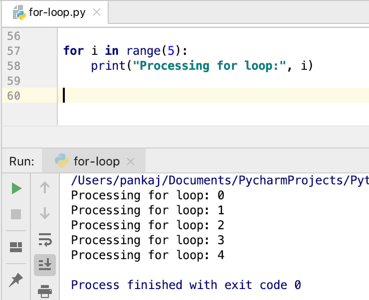 Python For Loop With Range Function