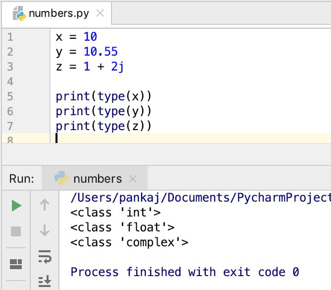 Python Numbers