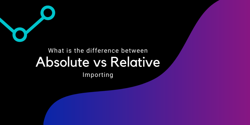 Absolute Vs Relative Importing