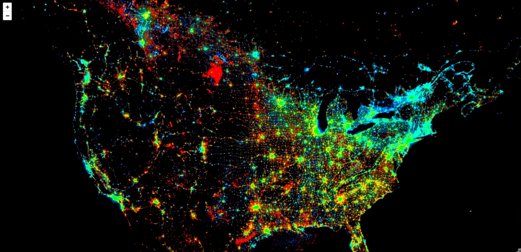 Night Light 1 - Satellite Imagery using Google Earth Engine