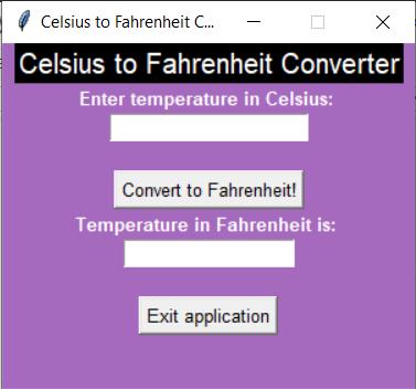 Initial Image Celsius to Fahrenheit