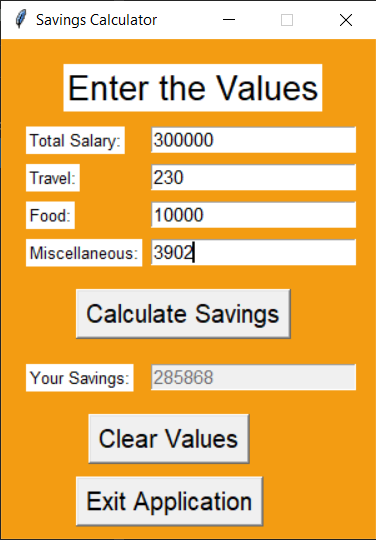 Output2 Salary Calculator